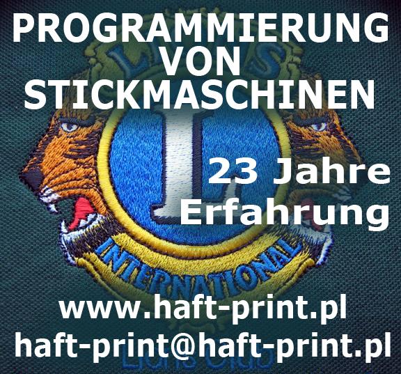 HAFT-PRINT STUDIO haft komuterowy :: Embroidery Machine Designs ...
